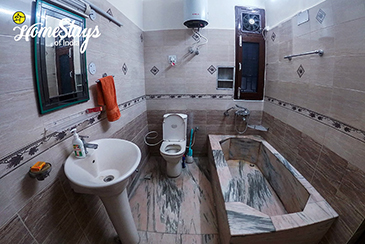 Palampur Homestay_Cottage Bathroom