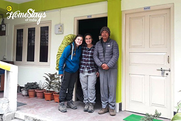 Happy Guest 2_Bomdila Homestay