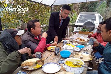 Dinning_Temi-Hertitage-Homestay-Namchi