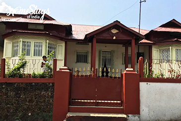 Entrance_Khliehshnong-Homestay_Cherrapunji