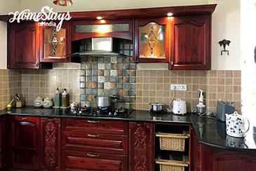 Kitchen_Dera Bassi Homestay, Chandigarh