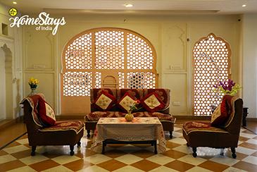 Common Sitting_Gangapole Tradional Homestay, Jaipur