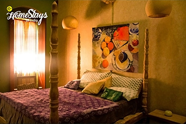 Double Bedroom_Bastora Homestay-Goa