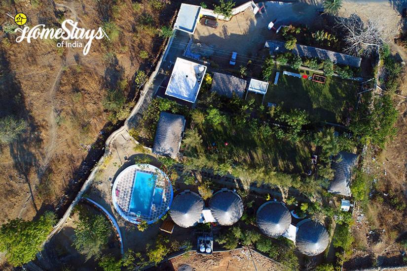 Aerial-View_Oda-Village-Homestay-Udaipur