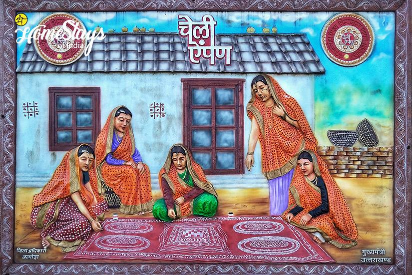 Wall Painting2_Kumaon-Uttarakhand