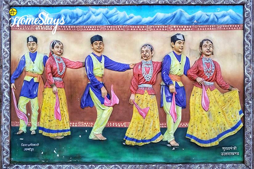Wall Paintng_Kumaon-Uttarakhand