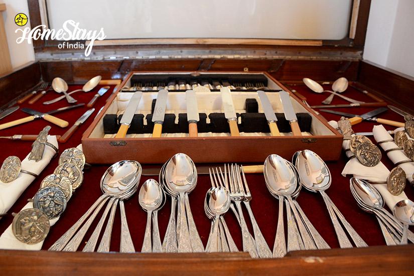 Antique Cutlery_Peelwa Heritage Homestay_Jaipur