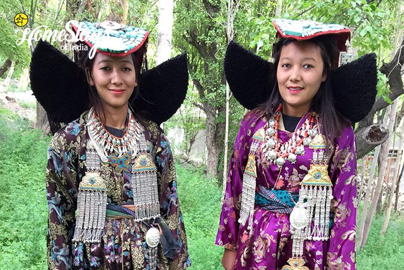 Aryan Girls_Achinathang Homestay-Ladakh