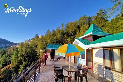 Balcony_Jagoti Homestay-Mashobra