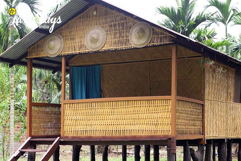 Bamboo Hut2_Jaramukhuria-Homestay, Chandubi