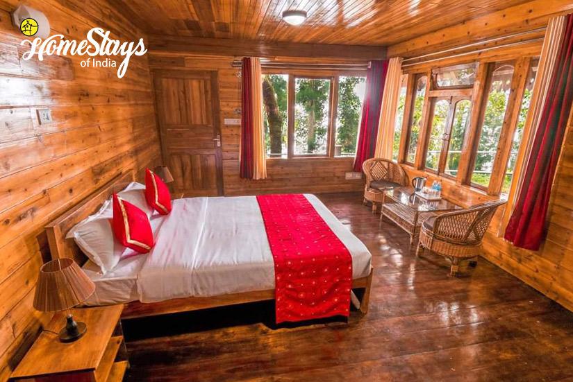 BedRoom2_Kurseong Homestay_Darjeeling