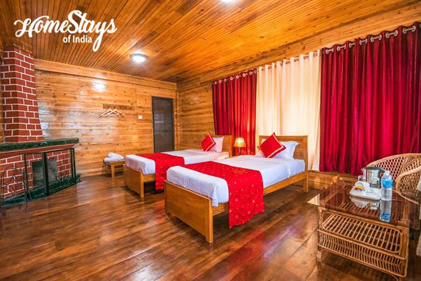 BedRoom3_Kurseong Homestay_Darjeeling