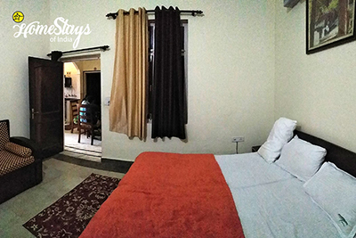 Bedroom-2_Ramnagar-Homestay-Corbett