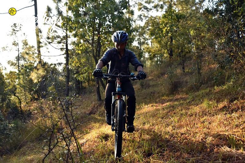 Biking_Chaukori-Homestay