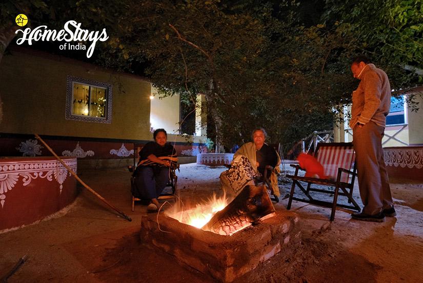 Bonfire_Channdaka Homestay-Bhubneswar