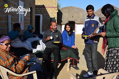 Breakfast_Khuri-Homestay-Jaisalmer