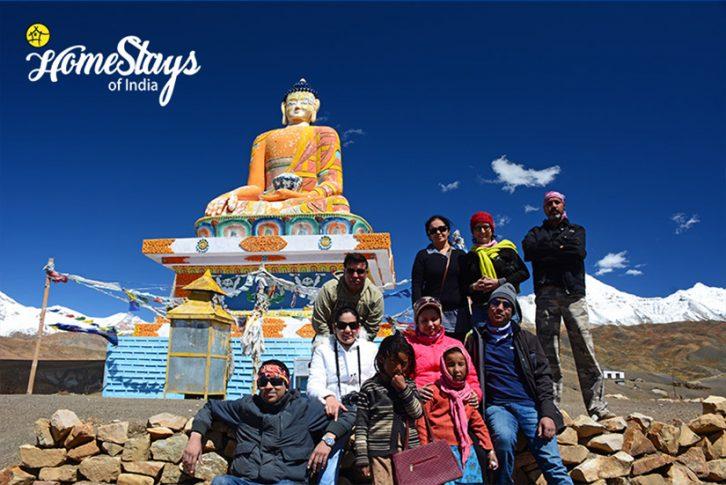 Budhha Statue_ Langza Homestay-Spiti