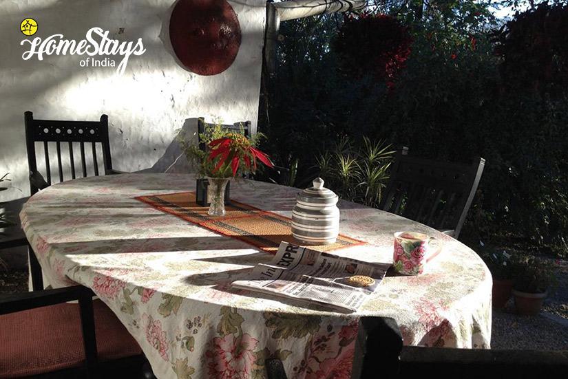 Dinning-Bhimtal Heritage Homestay