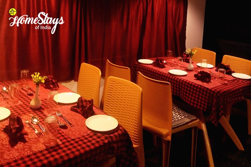 Dinning_Chandmari Homestay-Gangtok