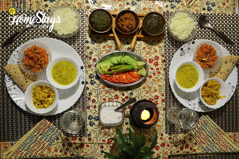Dinning_Gangapole Tradional Homestay, Jaipur