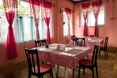 Dinning_Kurseong Homestay_Darjeeling