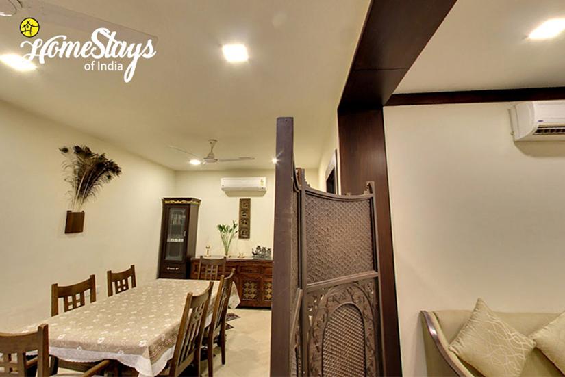 Dinning_Tajganj-Homestay-Agra