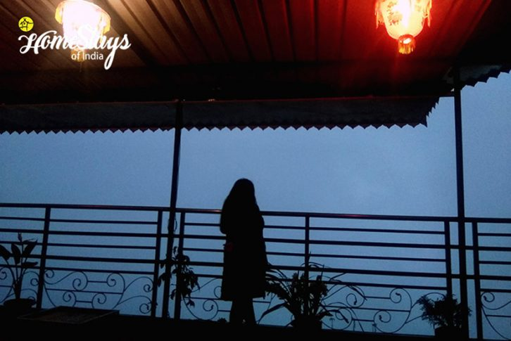 Evening_Chandmari Homestay-Gangtok