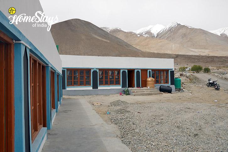 Exterior-Spangmik Homestay-Ladakh