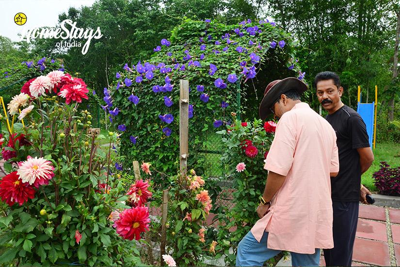 Garden_Chakoakheti-Homestay,-Chilpata