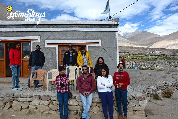 Guests-Spangmik Homestay-Ladakh