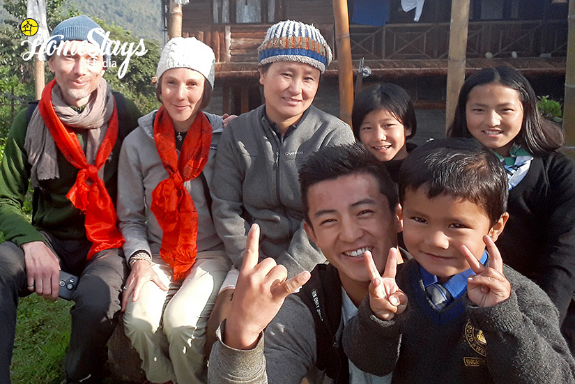 Host-&-Guest2_Khecheopalri-Homestay-Sikkim