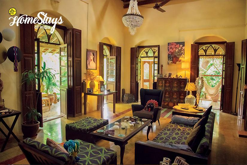 Livingroom_Bastora Homestay-Goa