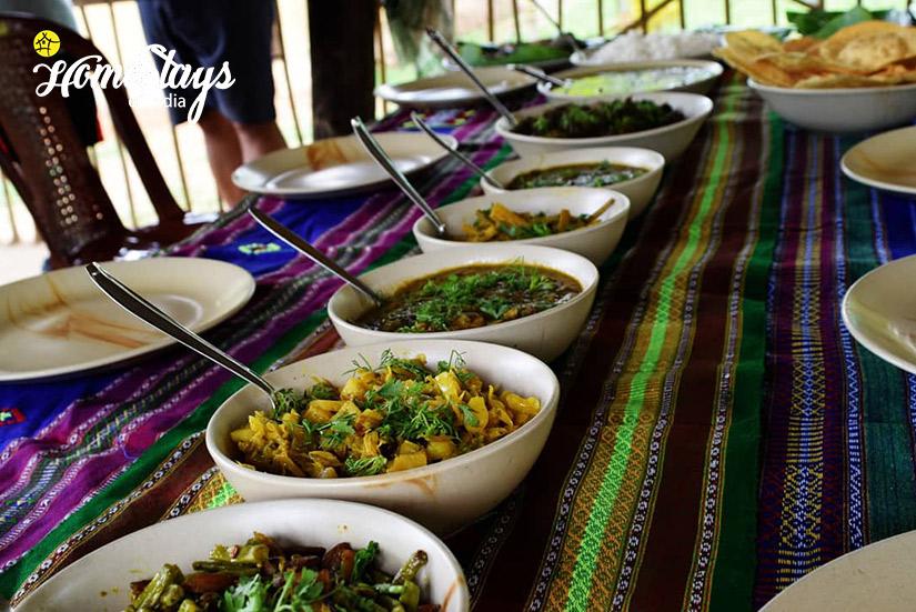Local Food_Jaramukhuria-Homestay, Chandubi