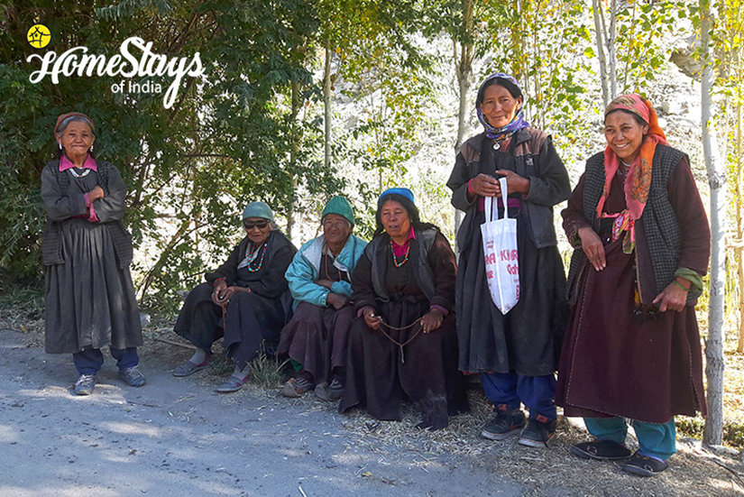 Locals_Achinathang Homestay-Ladakh