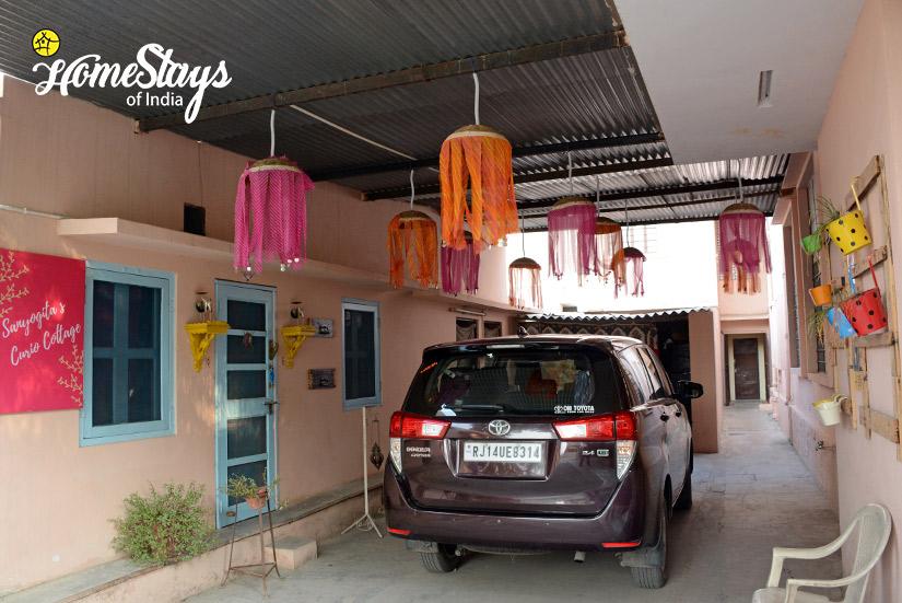 Main Porch_Peelwa Heritage Homestay_Jaipur