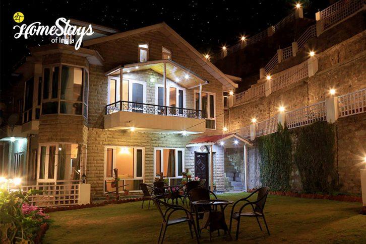 Night-View_Kanlog Boutique Homestay-Shimla