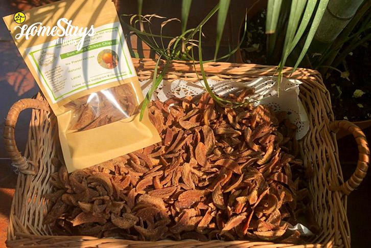 Organic-Chikoo-Chips-Bordi-Homestay