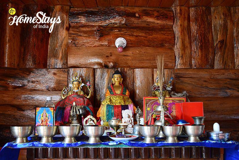 Prayer-Room_Khecheopalri-Homestay-Sikkim