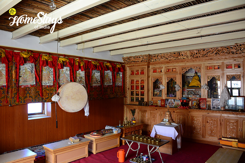 Prayer-Room_Kibber-Homestay-Spiti