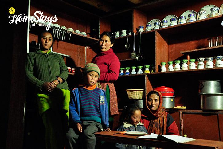 The Host-Spangmik Homestay-Ladakh