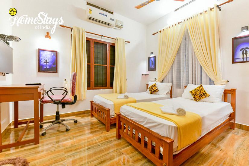 Twin-BedRoom2_Odatha Homestay_Fort Kochi