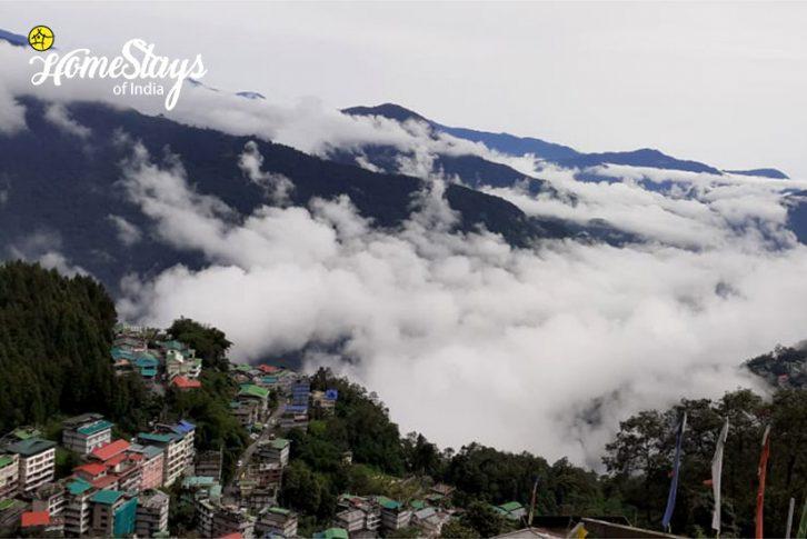 View_Chandmari Homestay-Gangtok