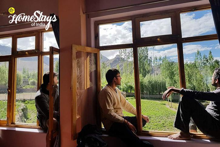 Window View-Changspa Homestay-Leh