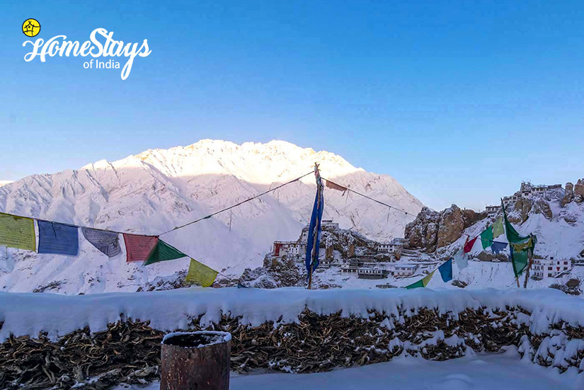 Winter3_Dhankar-Homestay-Spiti