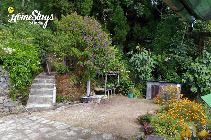 Garden_Rimbik-Homestay-Darjeeling