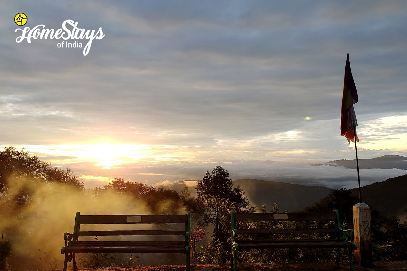 SunSet_Rimbik-Homestay-Darjeeling