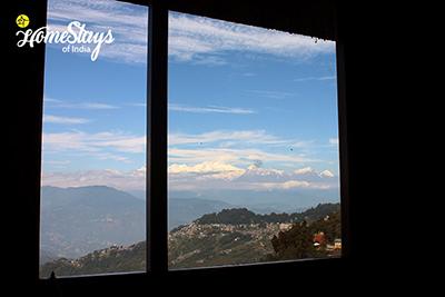 Window-View_Gandhi-Road-Homestay_Darjeeling