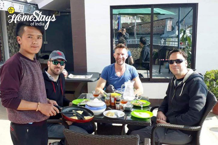 Breakfast_TungSung Homestay-Darjeeling