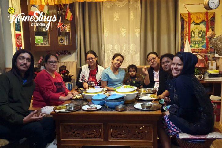 Dinner2_TungSung Homestay-Darjeeling