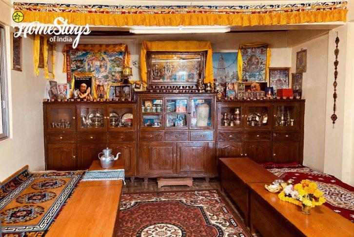 Prayer Room_TungSung Homestay-Darjeeling